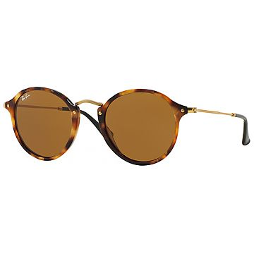 1aa88dbc60a4d1 RAY-BAN Round Fleck, Havana-Gold / Brown (RB2447 1160 49-21) from CHF  108.57 at Toppreise.ch