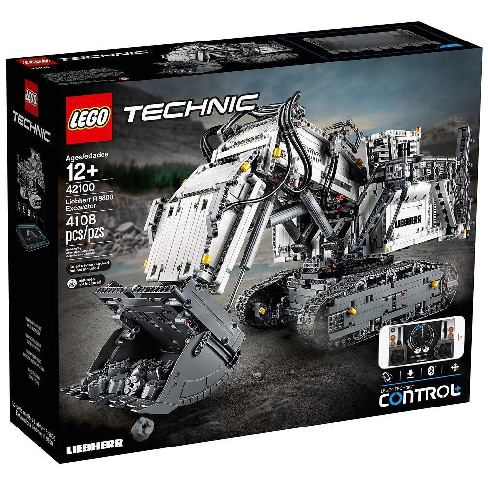 LEGO® Technic Liebherr Bagger R 9800, 42100