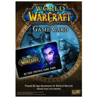 Prepaid Karte Ps4.World Of Warcraft Gamecard 60 Days Blizzard Pc