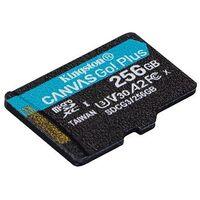 Kingston SDCG3//128GB microSD Speicherkarte 128GB microSDXC Canvas Go Plus 170R A2 U3 V30 mit SD Adapter