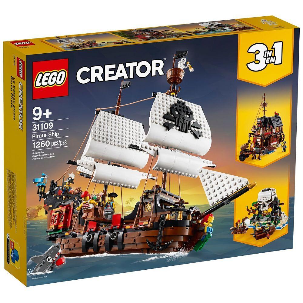 LEGO® Creator Piratenschiff, 31109