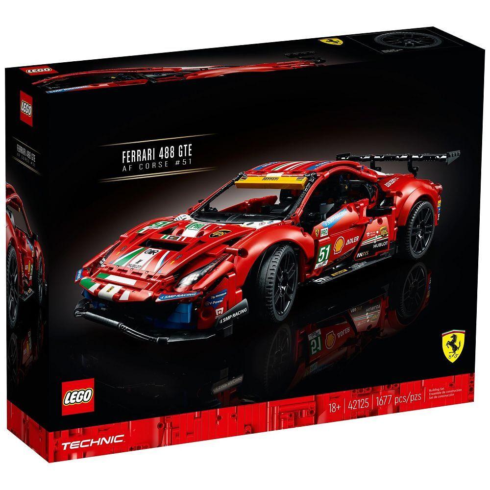 "LEGO® Technic Ferrari 488 GTE ""AF Corse #51"", 42125"