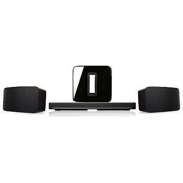 sonos 5 1 surround sound paket playbar play 5 bilder preisvergleich schweiz. Black Bedroom Furniture Sets. Home Design Ideas